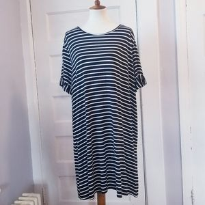 SHEIN Flutter Sleeve Dress, Size 3XL